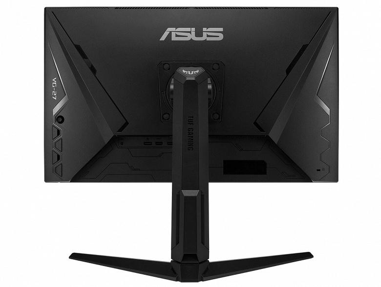 Монитор Asus TUF Gaming VG279QL1A поддерживает частоту обновления 165 Гц