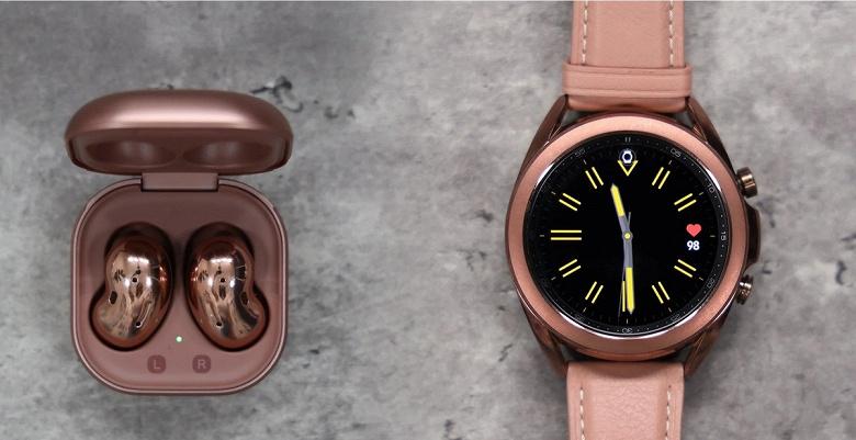 Успех новых умных часов и наушников Samsung. Galaxy Buds Live и Galaxy Watch3 продаются втрое лучше предшественников