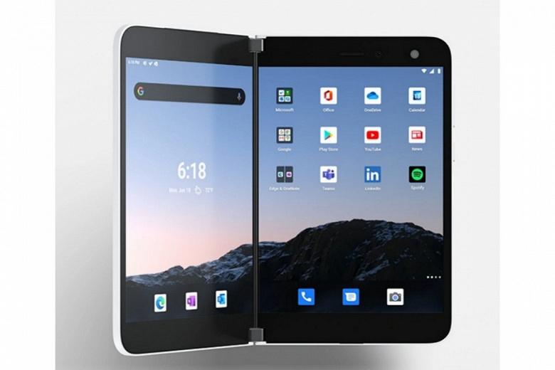 Представлен Microsoft Surface Duo — 1400-долларовый смартфон с двумя экранами, без NFC, 5G, стереодинамиков и большого аккумулятора