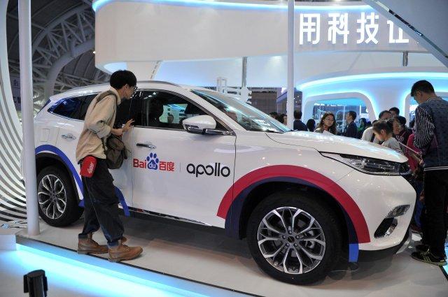Компьютер Baidu Apollo для самоуправляемых автомобилей готов к использованию