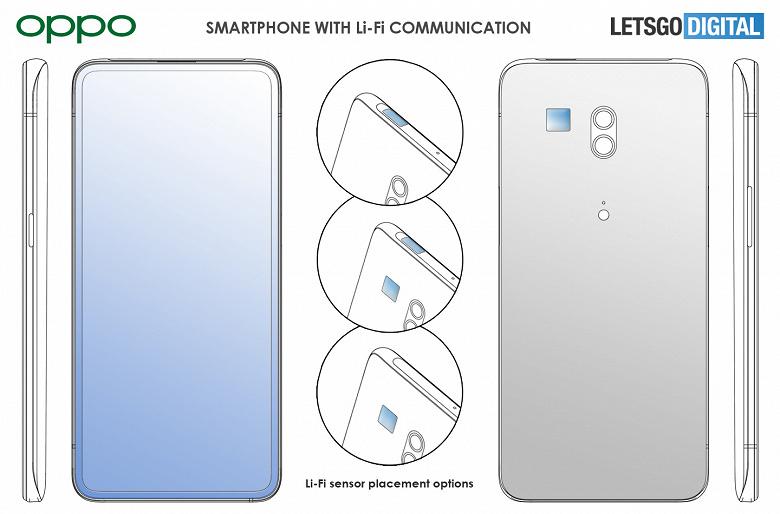 Li-Fi вместо «медленного» Wi-Fi. Oppo делает такой смартфон
