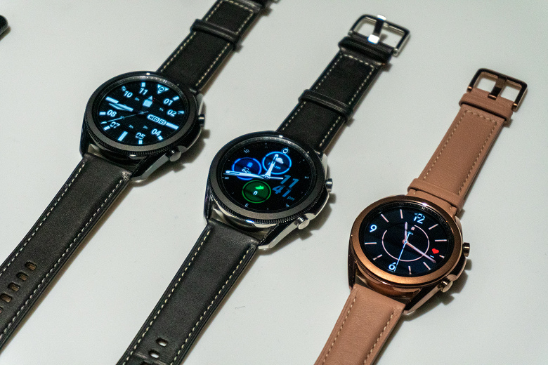 Представлены умные часы Samsung Galaxy Watch3