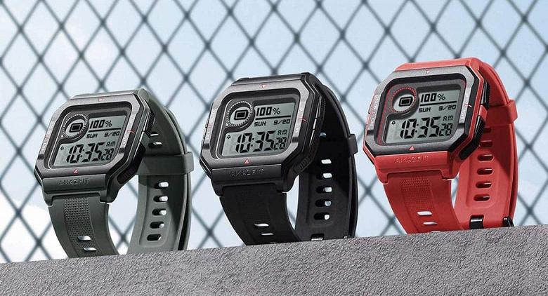 Представлены часы Amazfit Neo для фанатов классических Casio 90-х годов