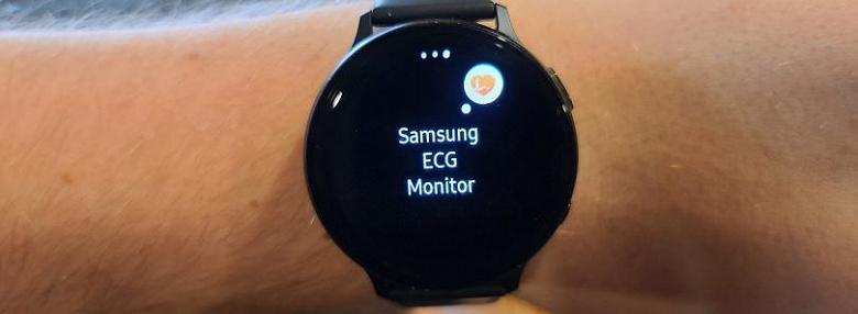 Свершилось: Samsung активировала ЭКГ на умных часах Galaxy Watch Active 2