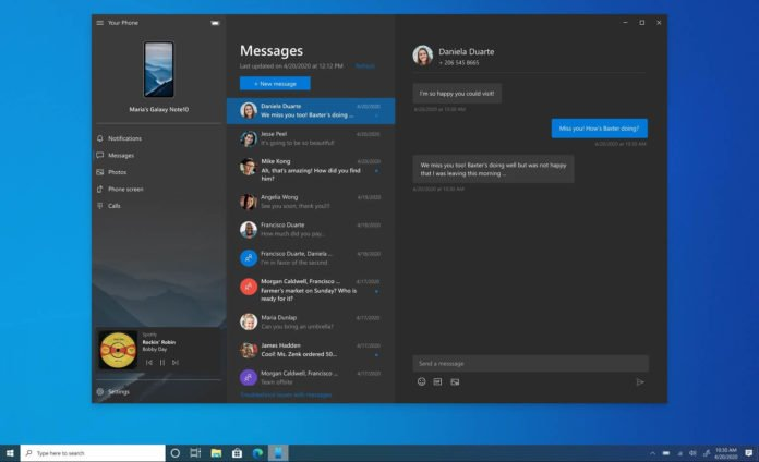 Microsoft научила Windows 10 новым трюкам при работе со смартфоном
