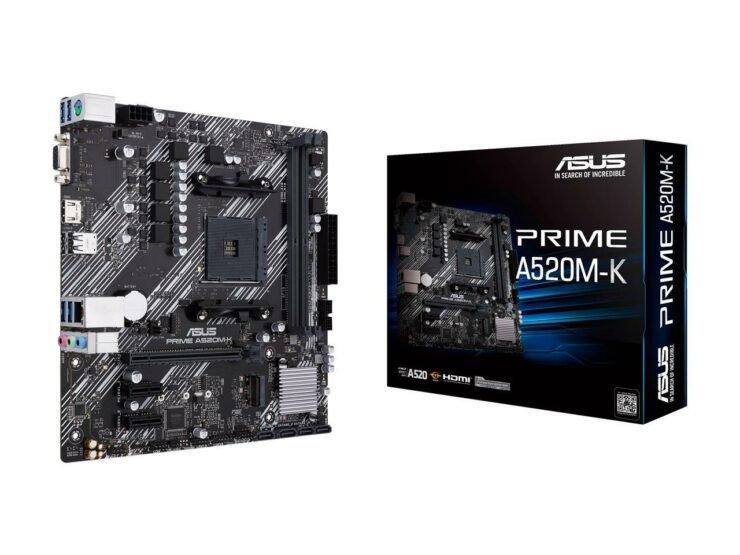 Дешевые материнские платы на чипсете AMD A520 для Ryzen 3000 и Ryzen 4000 — уже через 3 дня