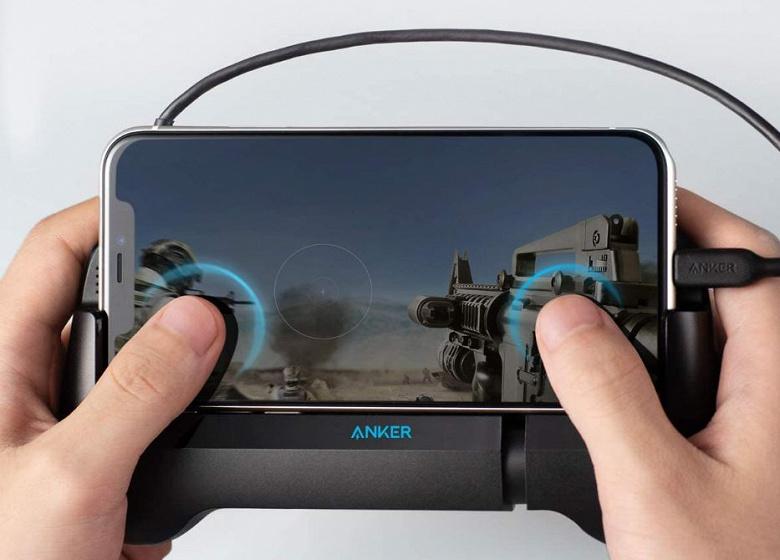 Мобильный игровой контроллер Anker PowerCore Play 6K подходит для смартфонов с iOS и Android