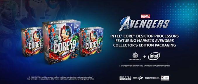 Intel представила процессоры Marvel's Avengers Collector's Edition Packaging