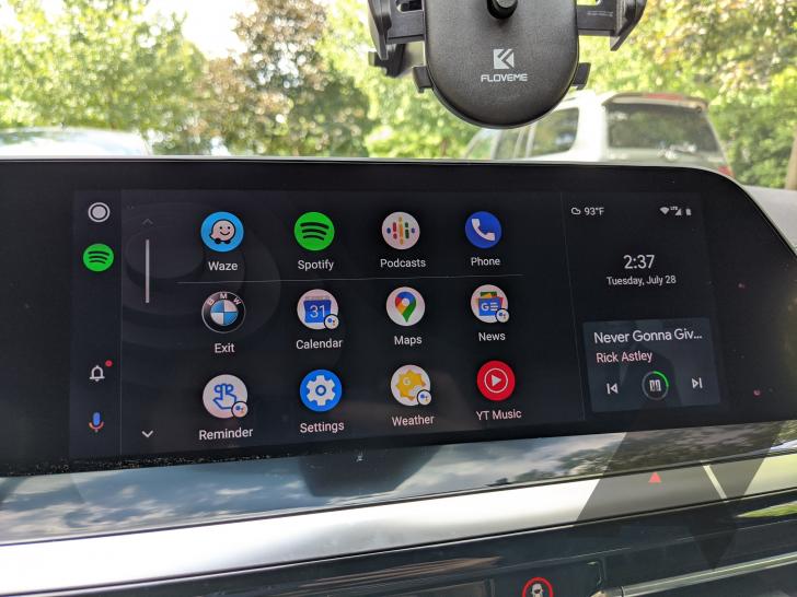 Долгожданная Android Auto пришла на автомобили BMW