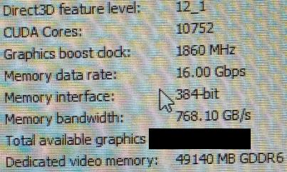 10752 ядра CUDA и 48 ГБ памяти - характеристики следующей видеокарты Nvidia Ampere
