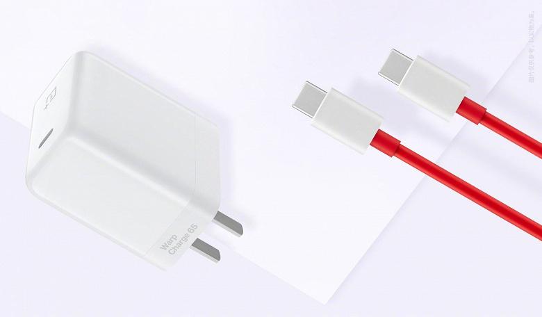 OnePlus показала новое быстрое зарядное устройство