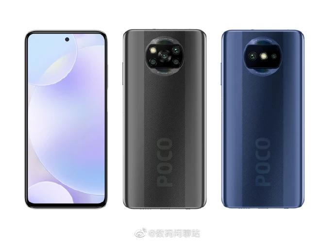 Так выглядит самый дешёвый смартфон Poco. Первое изображение
