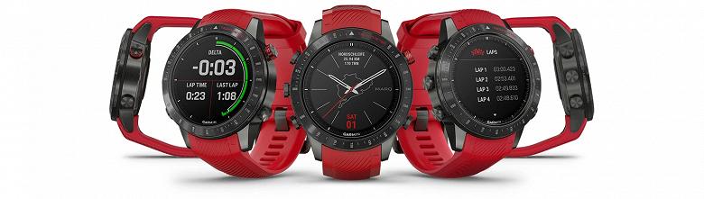 Новые высококлассные часы Garmin MARQ предназначены для профессионалов