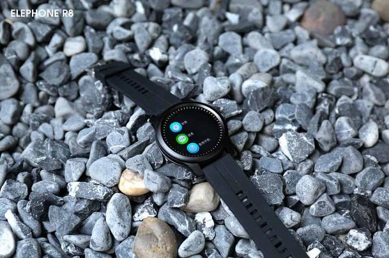 Если хочется умные часы, но денег немного. Elephone R8 предлагают все популярные функции за $40