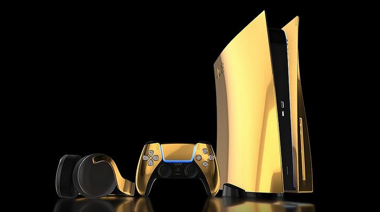 Оформить предзаказ на PlayStation 5 можно будет уже 10 сентября, но просят 8000 фунтов стерлингов. Такая приставка покрыта золотом