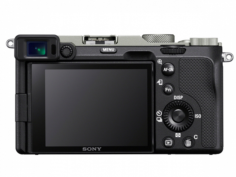 Представлена миниатюрная полнокадровая камера Sony a7C