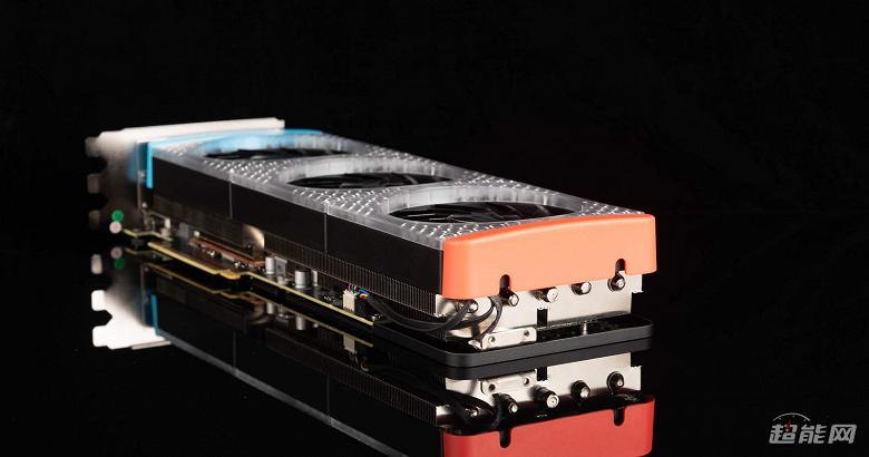 Galax GeForce RTX 3090 Gamer — сверхдлинная видеокарта для фанатов LEGO