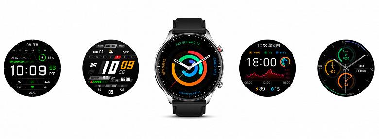 Представлены умные часы Amazfit GTR 2: стильные, функциональные и недорогие