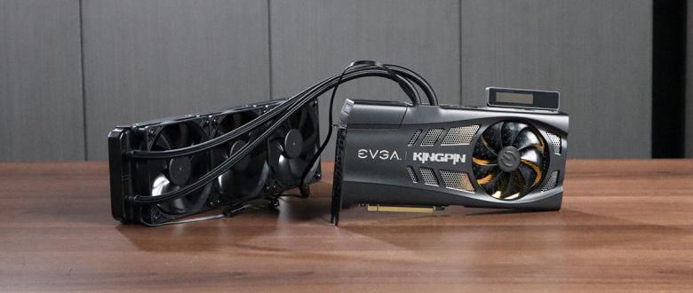 Одна из лучших среди GeForce RTX 3080. EVGA Kingpin во всей красе на качественном фото