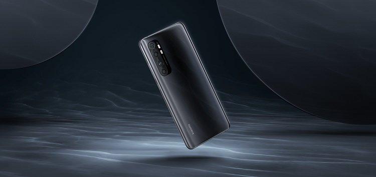 Международные Xiaomi Mi Note 10 Lite получили долгожданную MIUI 12