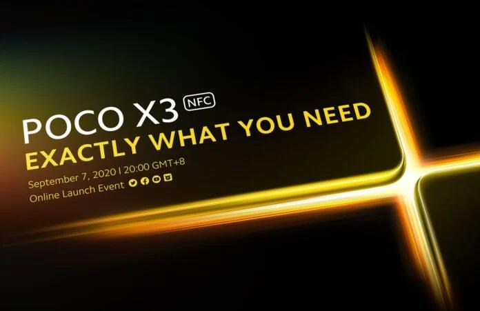 Новый Poco с NFC и Snapdragon 732G выходит 7 сентября