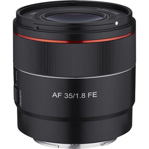Начат прием предварительных заказов на объектив Samyang AF 35mm f/1.8 FE