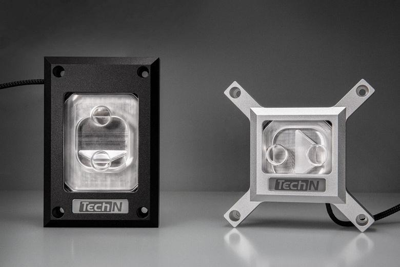 Ассортимент TechN пополнили водоблоки для процессоров в исполнении AMD AM4, Intel LGA 1200/115x и 2066/2011