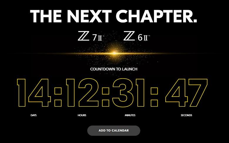 Официально: полнокадровые беззеркальные камеры Nikon Z6 II и Nikon Z7 II дебютируют 14 октября