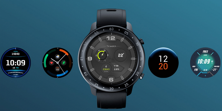 Защищённые часы с отличной функциональностью Mobvoi TicWatch GTX задержались, но оказались ещё доступнее