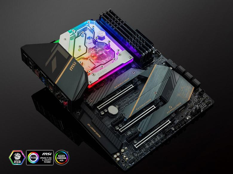 Водоблок Bitspower BP-MBMZ490ACE отводит тепло не только от процессора
