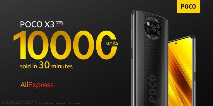 Очень интересный и доступный смартфон Poco X3 NFC сразу же стал популярным