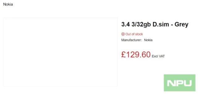 Тройная камера, аккумулятор 4000 мА·ч и Snapdragon 460. Насколько интересным окажется Nokia 3.4 при цене $170?