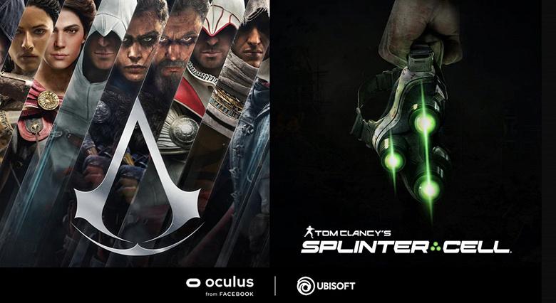 Новые Splinter Cell и Assassin's Creed стали эксклюзивами Oculus