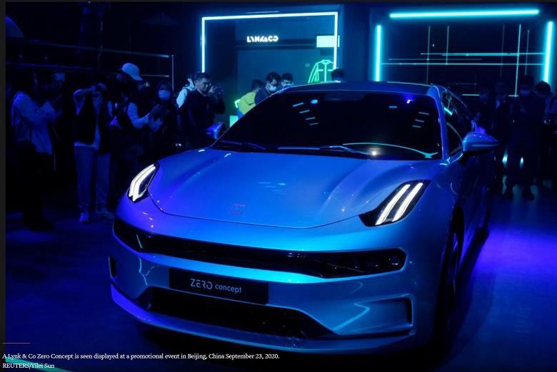 Компания Geely представила свою первую платформу для электромобилей