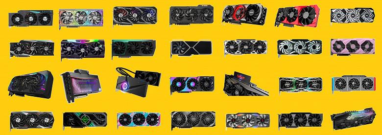 GeForce RTX 3080 невозможно купить. Видеокарт, похоже, нет вообще нигде