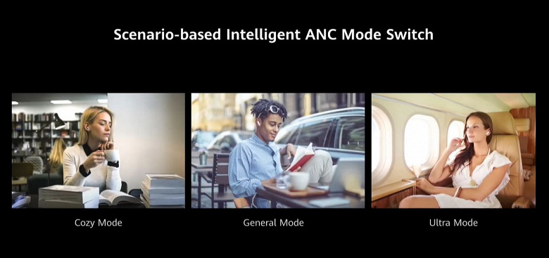 Представлены полностью беспроводные наушники Huawei FreeBuds Pro. Они лучше AirPods Pro и дешевле