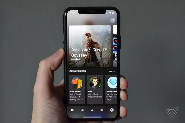 Удалённая игра на Xbox станет доступна с iPhone