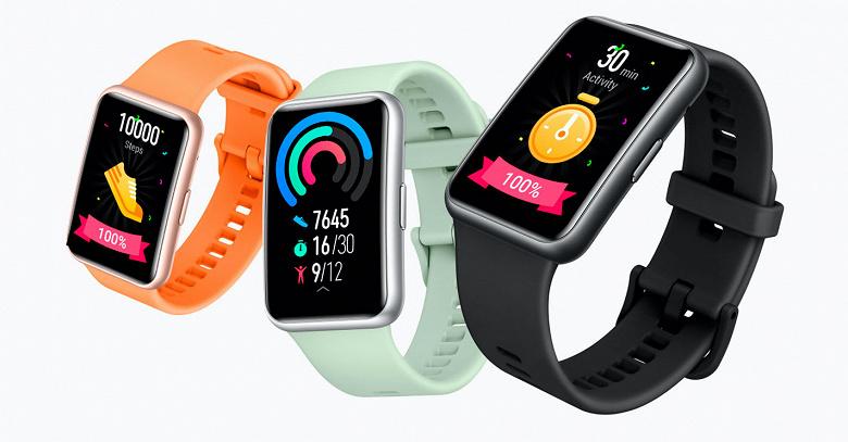 Хитовые умные часы Huawei Watch Fit с поддержкой SpO2 начали продаваться в России