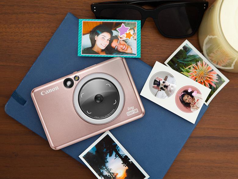 Представлены камеры Canon Ivy Cliq следующего поколения со встроенными принтерами