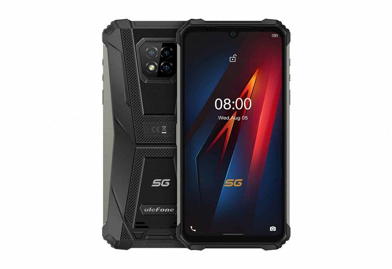 Первый в мире сверхпрочный смартфон с NFC, IP69K и 5G сравнили с iPhone 11