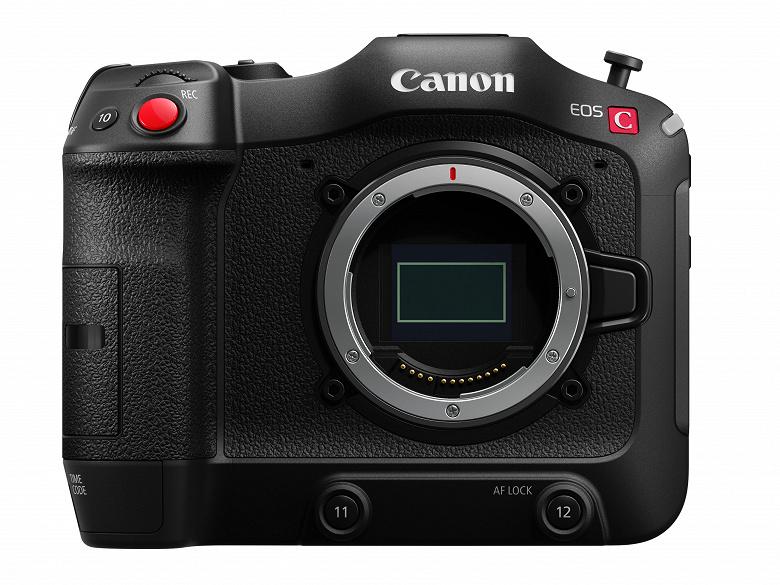 Представлена камера Canon EOS C70