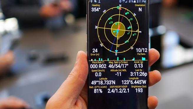 У Samsung Galaxy S8 и Galaxy Note8 массовые сбои GPS после обновления