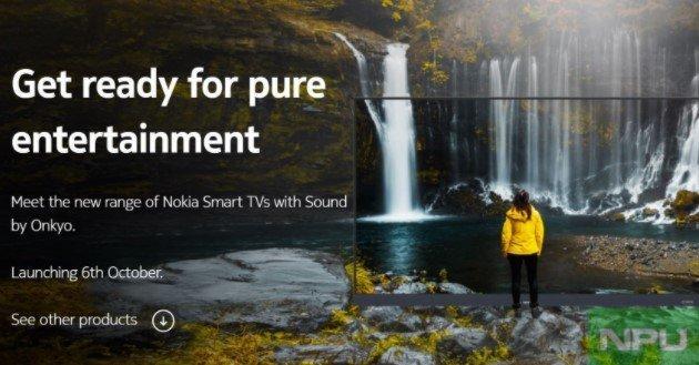 Громкоговорители Onkyo и Android 9.0. Готовятся к выходу два новых телевизора Nokia