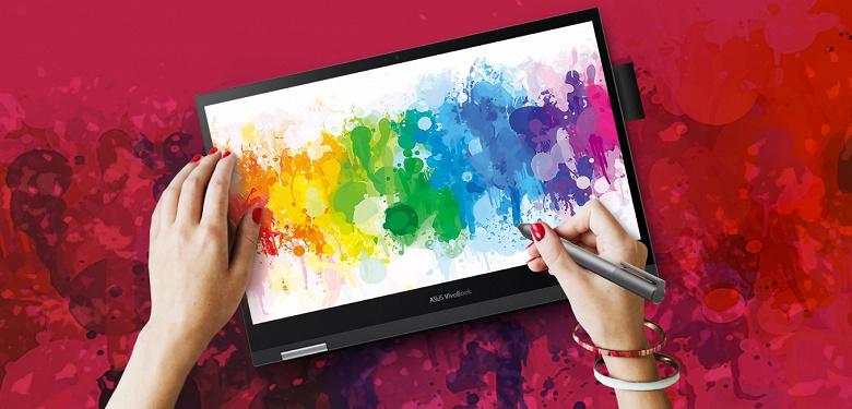 Asus представила первый в мире ноутбук с дискретной видеокартой Intel. VivoBook Flip 14 оснащён First Intel Discrete Graphics
