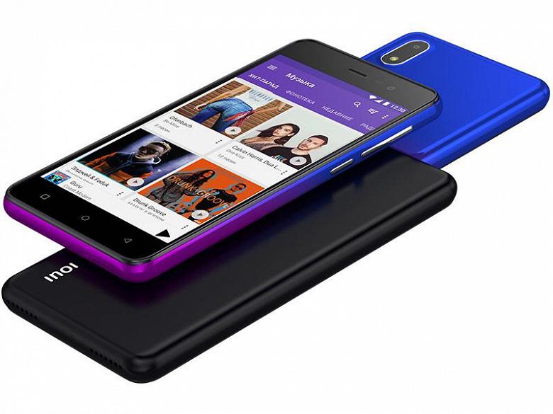Российская компания Inoi выпустила обновлённую версию своего самого популярного смартфона Inoi 2 Lite