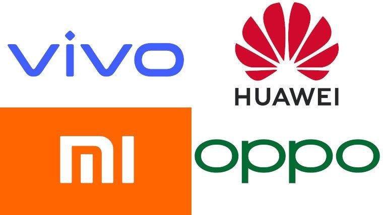 Huawei, Xiaomi, Vivo и Oppo вошли в топ-5 самых ценных китайских брендов электроники