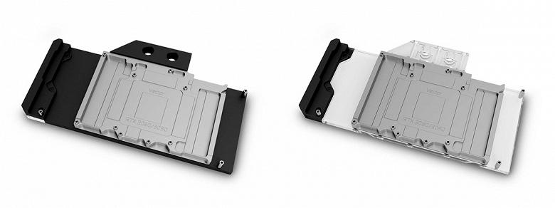 Водоблок EK-Quantum Vector Trinity RTX 3080/3090 D-RGB предназначен для видеокарт Zotac Trinity серии GeForce RTX 30