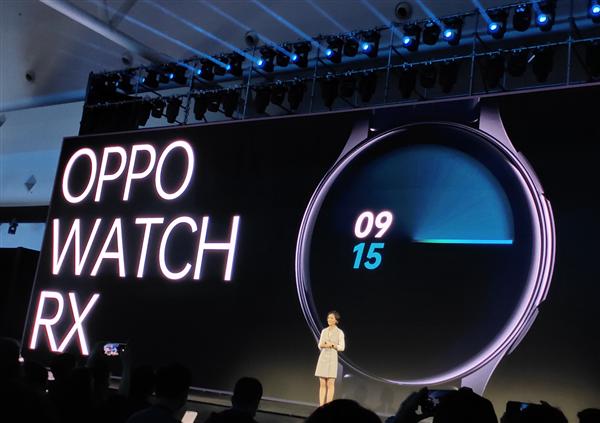 Oppo показала умные часы Watch RX с круглым экраном AMOLED
