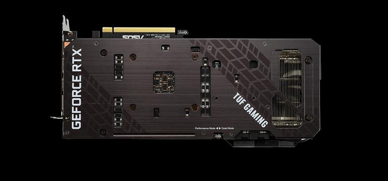 Всё равно очень большие. Asus представила видеокарты TUF Gaming GeForce RTX 3070