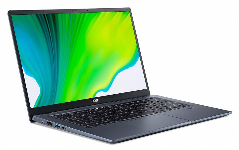 Ещё один ноутбук с дискретной видеокартой Intel. Acer Swift 3X стоит от 1090 долларов